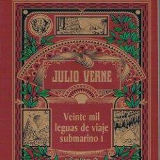 Libros de segunda mano: VEINTE MIL LEGUAS DE VIAJE SUBMARINO I. JULIO VERNE. Lote 39739157