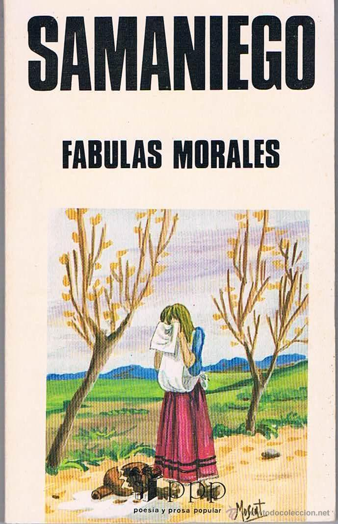 FÁBULAS MORALES. SAMANIEGO. (Libros de Segunda Mano (posteriores a 1936) - Literatura - Narrativa - Clásicos)