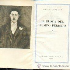 Libros de segunda mano: 1ª EDICIÓN EN BUSCA DEL TIEMPO PERDIDO, MARCEL PROUST. Lote 39972140
