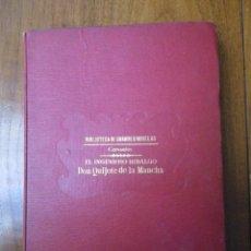 Libros de segunda mano: QUIJOTE. BIBLIOTECA DE GRANDES NOVELAS. ED. RAMÓN SOPENA. (NO INDICA AÑO DE PUBLICACIÓN). Lote 40548129