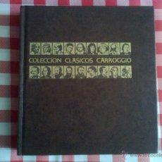 Libros de segunda mano: HOMERO - LA ILÍADA Y LA ODISEA - CLÁSICOS CARROGGIO 1983. Lote 40783234