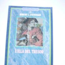 Libros de segunda mano: LA ILLA DEL TRESOR - STEVENSON, ROBERT L. - BARCANOVA - I.LUSTRACIONS MERVIN PEAKE 1991.C48. Lote 40837697