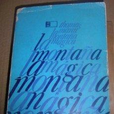 Libros de segunda mano: EDICIÓN LIMITADA Y ESPECIAL.LA MONTAÑA MÁGICA. T. MANN.INSTITUTO CUBANO.HABANA 1973.ALEJO CARPENTIER. Lote 40850955