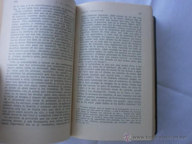 Libros de segunda mano: JUAN JACOBO ROUSSEAU OBRAS SELECTAS EDITA LIBRERIA ATENEO 1959 - Foto 3 - 41054425