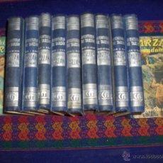 Libros de segunda mano: TARZAN DE GUSTAVO GILI COLECCIÓN COMPLETA 11 NºS EN TAPA DURA. AÑOS 50. MUY DIFÍCIL!!!!!!!!!!!!!. Lote 41157278