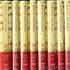 Libros de segunda mano: BIBLIOTECA DE CLASICOS UNIVERSALES - 40 TOMOS - EDICIONES ORBIS 1988. Lote 41281882
