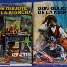 Libros de segunda mano: DON QUIJOTE DE LA MANCHA - PETRONIO (1973) ¡IMPECABLES!. Lote 41313012