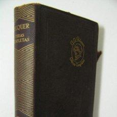 Libros de segunda mano: OBRAS COMPLETAS,BECQUER,1964,AGUILAR ED, REF CRSTL. Lote 41316231