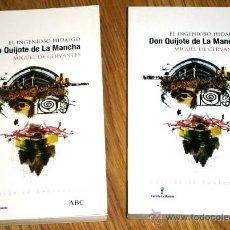 Libros de segunda mano: EL INGENIOSO HIDALGO DON QUIJOTE DE LA MANCHA 2T POR CERVANTES, ED. ABC / FOLIO EN BARCELONA 2004. Lote 41430921