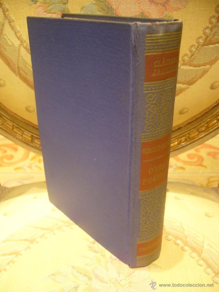 Libros de segunda mano: OBRAS POETICAS, DE VIRGILIO Y HORACIO. EDITORIAL EXITO, 1ª EDICION 1.957. - Foto 2 - 41518435