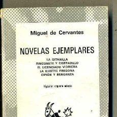 Libros de segunda mano: AUSTRAL 29 : MIGUEL DE CERVANTES - NOVELAS EJEMPLARES. Lote 41551300