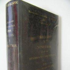 Livros em segunda mão: ELLOS Y NOSOTROS EPISODIOS GUERRA CIVIL,GOICOECHEA,FACSIMIL 1876,REF LEYENDAS Y TRADICIONES BS3. Lote 41563500