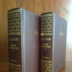 Libros de segunda mano: EDGAR ALLAN POE - OBRAS COMPLETAS EN 2 VOLS. AGUILAR 2004 - TRADUCCIÓN DE JULIO CORTÁZAR. Lote 209873030