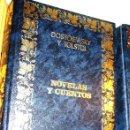 Libros de segunda mano: DOSTOIEWSKY Y TOLSTOI - NOVELAS Y CUENTOS- OCÉANO-. Lote 41759826