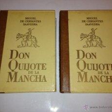 Libros de segunda mano: CERVANTES - DON QUIJOTE DE LA MANCHA - LABOR 2 TOMOS. Lote 42063009
