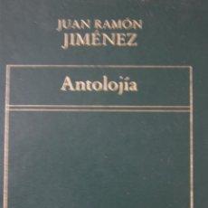 Libros de segunda mano: ANTOLOJÍA. JUAN RAMÓN JIMENEZ. Lote 42115313