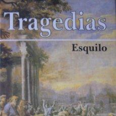 Libros de segunda mano: TRAGEDIAS. ESQUILO. Lote 42115354
