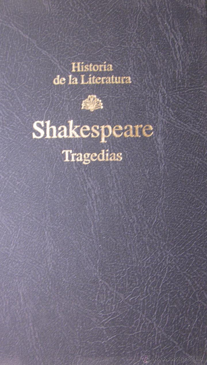 TRAGEDIAS. SHAKESPEARE (Libros de Segunda Mano (posteriores a 1936) - Literatura - Narrativa - Clásicos)