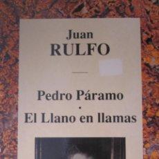 Libros de segunda mano: PEDRO PÁRAMO / EL LLANO EN LLAMAS. Lote 42145159