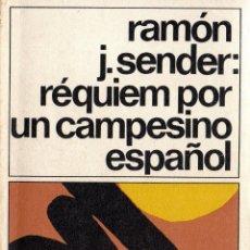 Libros de segunda mano: . LIBRO COLECCION DESTINOLIBRO Nº15 REQUIEM POR UN CAMPESINO ESPAÑOL DE RAMON J SENDER. Lote 42235619