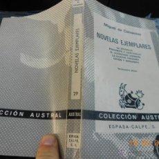 Libros de segunda mano: LIBRO COLECCION AUSTRAL: 29 NOVELAS EJEMPLARES MIGUEL DE CERVANTES NJ.E. Lote 42386842