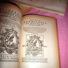 Libros de segunda mano: LOTE ANTIGUOS LIBROS CERVANTINOS ILUSTRADOS.. Lote 42530359