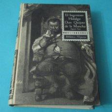 Libros de segunda mano: EL INGENIOSO HIDALGO D. QUIJOTE DE LA MANCHA. 2ª PARTE. MIGUEL DE CERVANTES. ILUSTRADA. Lote 42687008