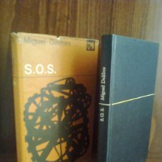 Libros de segunda mano: MIGUEL DELIBES - S.O.S. - EDICIONES DESTINO - ÁNCORA Y DELFÍN 1976. Lote 42757522
