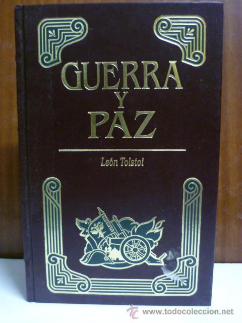 GUERRA Y PAZ. - TOLSTOI, LEÓN: EDITORS S.A - PRIMERA EDICIÓN 1998 - ILUSTRADO (Libros de Segunda Mano (posteriores a 1936) - Literatura - Narrativa - Clásicos)