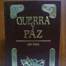 Libros de segunda mano: GUERRA Y PAZ. - TOLSTOI, LEÓN: EDITORS S.A - PRIMERA EDICIÓN 1998 - ILUSTRADO. Lote 220659916