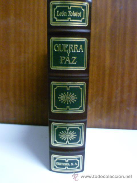 Libros de segunda mano: Guerra y Paz. - TOLSTOI, León: editors S.A - primera edición 1998 - ilustrado - Foto 2 - 220659916