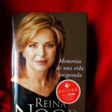 Libros de segunda mano: SU MAJESTAD REINA NOOR (MEMORIAS). Lote 63278519
