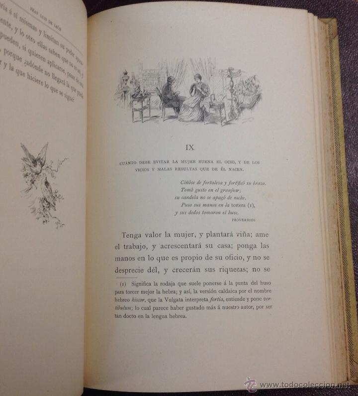 Libros de segunda mano: LA PERFECTA CASADA. FRAY LUÍS DE LEÓN. 1898. - Foto 3 - 43215836