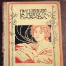 Libros de segunda mano: LA PERFECTA CASADA. FRAY LUÍS DE LEÓN. 1898. . Lote 43215836