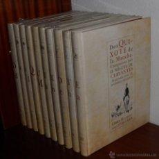 Libros de segunda mano: DON QUIJOTE DE LA MANCHA - 10 TOMOS - MINGOTE (2005). Lote 43271159