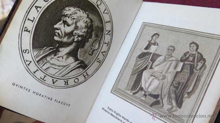 Libros de segunda mano: 1945.- OBRAS COMPLETAS. VIRGILIO Y HORACIO. AGUILAR. CRISOL - Foto 2 - 43522965