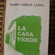 Libros de segunda mano: LIBRO LA CASA VERDE DE MARIO VARGAS LLOSA, EDITORIAL JOSÉ GODARD EDITOR, 430 PÁGINAS, TAPA BLANDA. Lote 43563804