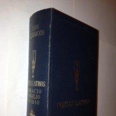Libros de segunda mano: POETAS LATINOS. HORACIO. VIRGILIO. OVIDIO - CLASICOS EDAF. Lote 43601626