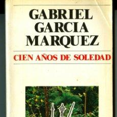Libros de segunda mano: CIEN AÑOS DE SOLEDAD - GABRIEL GARCÍA MARQUEZ. Lote 43639238