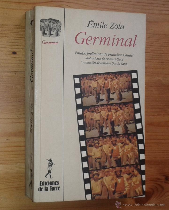 ÉMILE ZOLA - GERMINAL - EDICIONES DE LA TORRE, 1994 (Libros de Segunda Mano (posteriores a 1936) - Literatura - Narrativa - Clásicos)
