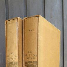 Libros de segunda mano: 1964.- LAS MIL Y UNA NOCHES. J. NARRO. CON ESTUCHE. Lote 43729107