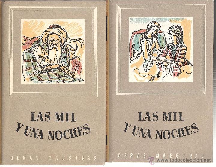 Libros de segunda mano: LAS MIL Y UNA NOCHES -TRES TOMOS- EDITORIAL IBERIA 1953 ----OCASION---- - Foto 2 - 43747485