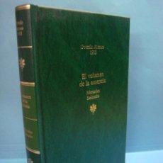 Libros de segunda mano: LIBRO EL VOLUMEN DE LA AUSENCIA. MERCEDES SALISACHS. COLECCION PREMIOS ATENEO: 1983. TAPA DURA. 1988. Lote 43827019