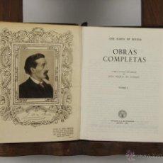 Libros de segunda mano: 4881- JOSE MARIA DE PEREDA OBRAS COMPLETAS. EDIT. AGUILAR. 1954. 2 VOL. . Lote 148794392