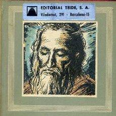 Libros de segunda mano: CALDERÓN : AUTOS SACRAMENTALES (IBERIA, 1964). Lote 43976589