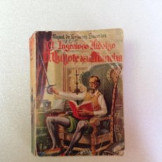 Libros de segunda mano: D. QUIJOTE DE LA MANCHA ENCICLOPEDIA PULGA Nº1. Lote 44078689