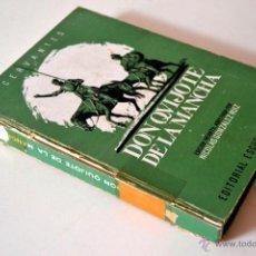 Libros de segunda mano: DON QUIJOTE DE LA MANCHA * EDICION INFANTIL ABREVIADA * EDITORIAL ESCUELA ESPAÑOLA 1967. Lote 44206619