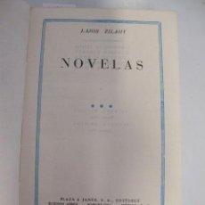 Libros de segunda mano: LAJOS ZILAHY. NOVELAS, 1966. Lote 44444445