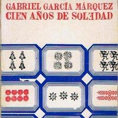 Libros de segunda mano: CIEN AÑOS DE SOLEDAD GABRIEL GARCÍA MÁRQUEZ. Lote 44717894