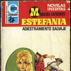 Libros de segunda mano: ADIESTRAMIENTO SALVAJE - AÑO 1978 - NOVELA ESTEFANIA DE BOLSILLO ORIGINAL - ES DEL OESTE. Lote 45075164